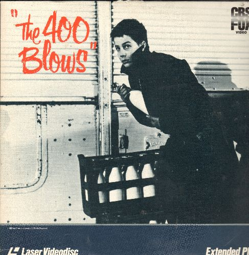 The 400 Blows - The 400 Blows - The 1959 Francois Truffaut Classic in French with English Subtitles,  THIS IS A LASERDISC, NOT ANY OTHER KIND OF MEDIA! - NM9/VG7 - LaserDiscs
