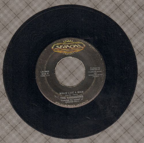 Four Seasons - Walk Like A Man/Sherry (double-hit re-issue) - VG7/ - 45 rpm Records