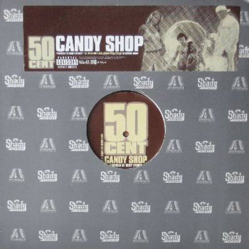 50 Cent - Candy Shop - 12 inch vinyl Maxi Single featuring 4 different tracks of the Rap Hit - M10/ - LP Records