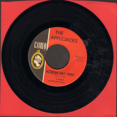 Applejacks - Mexican Hat Twist/Let's Continental (FANTASTIC Novelty two-sider!) - NM9/ - 45 rpm Records