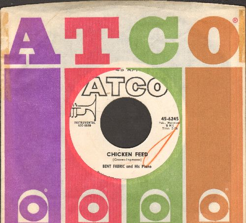Fabric, Bent & His Orchestra - Chicken Feed (EXCELLENT for beginner's piano lesson!)/That Certain Party (with Atco company sleeve) - NM9/ - 45 rpm Records