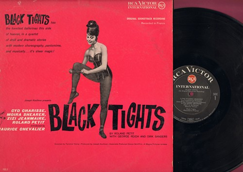 Black Tights - Black Tights - Original Motion Picture Sound Track (Vinyl LP record) - NM9/EX8 - LP Records