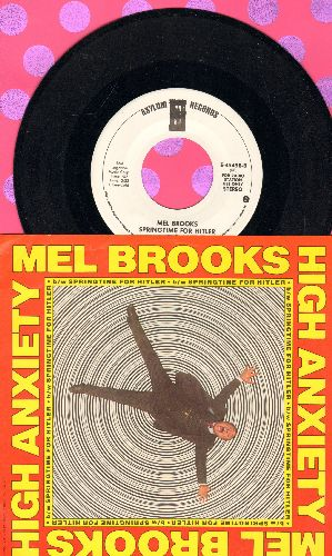 Brooks, Mel - High Anxiety/Springtime For Hitler (DJ advance pressing with RARE picture sleeve) - NM9/NM9 - 45 rpm Records