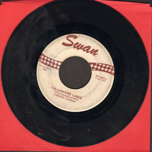 Cannon, Freddy - Tallahassee Lassie/You Know (sol) - VG7/ - 45 rpm Records