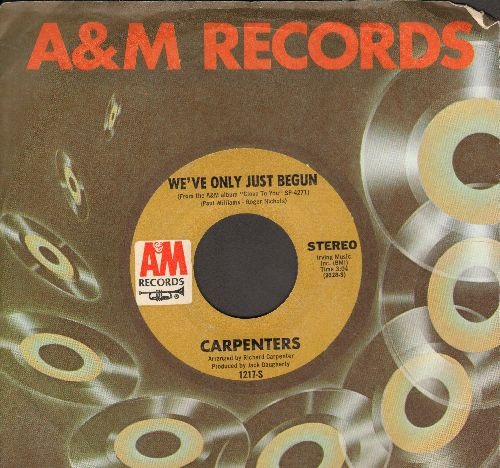 Carpenters - Top Of The World/Heather (MINT condition with A&M company sleeve) - M10/ - 45 rpm Records