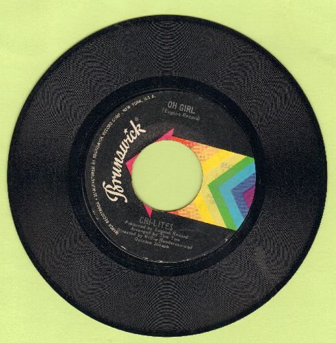 Chi-Lites - Oh Girl/Being In Love - VG7/ - 45 rpm Records