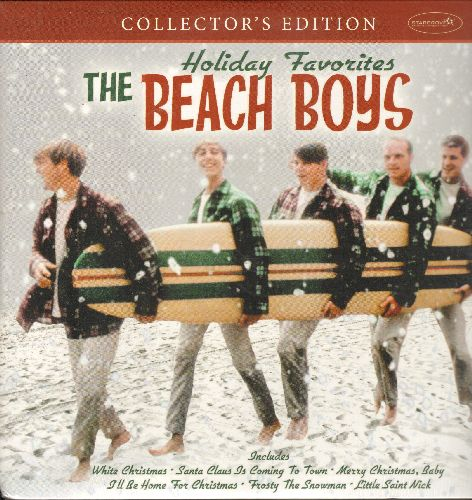 Beach Boys - Holiday Favorites: White Christmas, Little Saint Nick, Frosty The Snowman, The Man With All The Toys (CANADIAN Pressing re-issue of vintage recordings, SEALED, never opened!) - SEALED/SEALED - LP Records