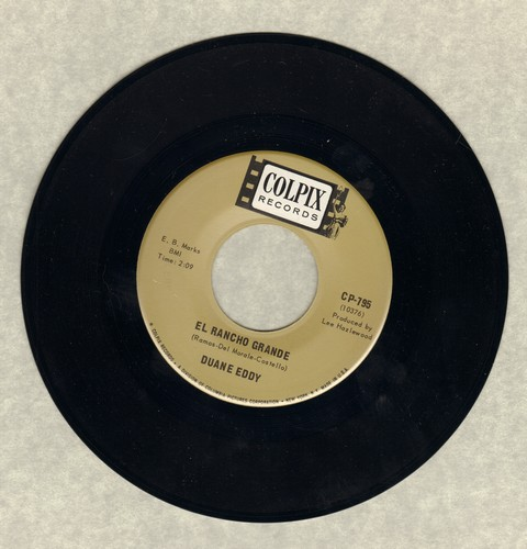 Eddy, Duane - El Rancho Grande/Poppa's Movin' On - EX8/ - 45 rpm Records