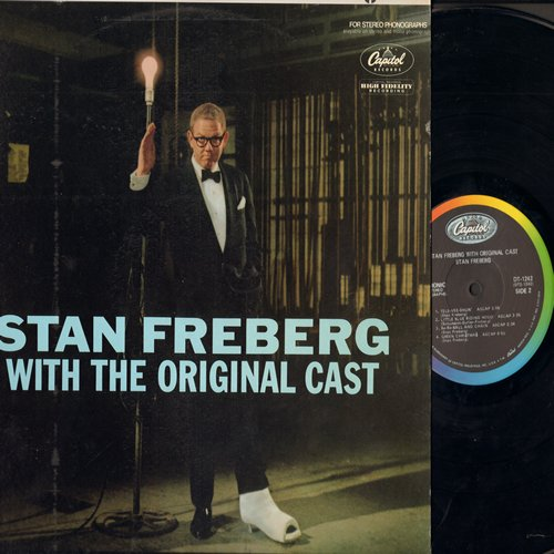 Freberg, Stan - With The Original Cast: Wun-erful Wun'erful, Green Christmas, Little Blue Ridong Hood, more! (Vinyl DUOPHONIC STEREO LP record) - NM9/NM9 - LP Records