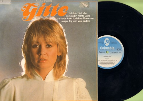 Gitte - Collection: Junger Tag, Weisse Rosen, So schoen kann doch kein Mann sein, Ich will 'nen Cowboy als Mann (Vinyl STEREO LP record, German Pressing) - EX8/EX8 - LP Records