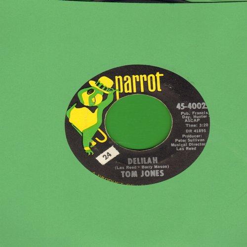 Jones, Tom - Delilah/Smile Away Your Blues - EX8/ - 45 rpm Records
