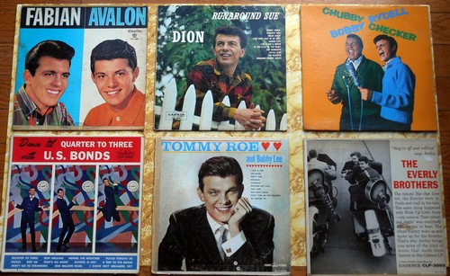 LP Cover 6-Pack - Set #1 includes 6 Vintage LP covers (NO records!) - Exactly as pictured, great for decoration or as replacement covers.  - VG7/ - Supplies