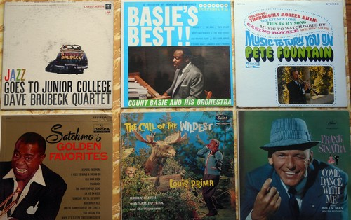 LP Cover 6-Pack - Set #2 includes 6 Vintage LP covers (NO records!) - Exactly as pictured, great for decoration or as replacement covers.  - VG7/ - Supplies