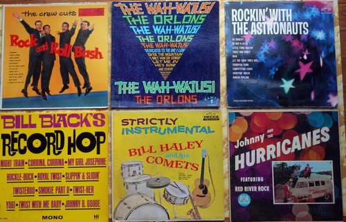 LP Cover 6-Pack - Set #3 includes 6 Vintage LP covers (NO records!) - Exactly as pictured, great for decoration or as replacement covers.  - VG7/ - Supplies