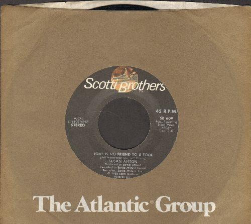 Anton, Susan - Love Is No Friend To A Fool/Killin' Time (with Atlantic company sleeve) - NM9/ - 45 rpm Records