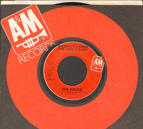 Police - Every Little Thing She Does Is Magic/Shambelle (with A&M company sleeve) - VG7/ - 45 rpm Records