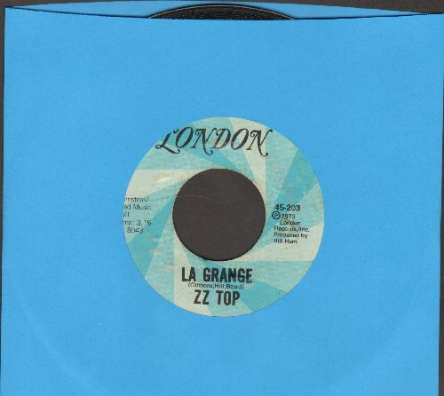 ZZ Top - La Grange/Just Got Paid - VG7/ - 45 rpm Records