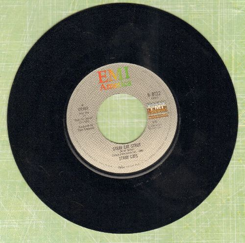 Stray Cats - Stray Cat Strut/You Don't Believe Me - EX8/ - 45 rpm Records