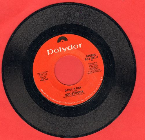 Strunk, Jud - Daisy A Day (ULTRA-SENTIMENTAL ballad!)/Wildwood Weed  - NM9/ - 45 rpm Records