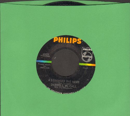 McCall, Darrell - A Stranger Was Here/I'm A Little Bit Lonely  - NM9/ - 45 rpm Records