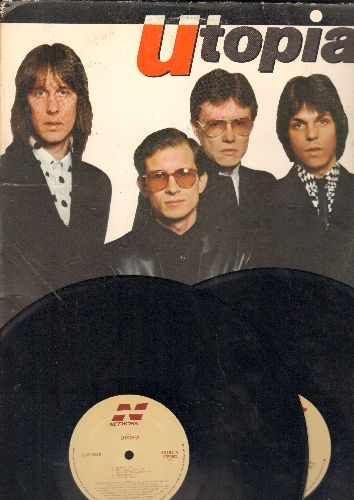 Utopia - Utopia: Libertine, Say Yeah, Call It What You Will, Inspiration (2 vinyl LP records) - EX8/VG7 - LP Records