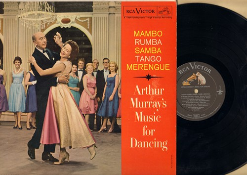 Murray, Arthur Music For Dancing - Mambo - Rhumba- Samba - Tango - Merengue (Vinyl MONO LP record) - NM9/EX8 - LP Records