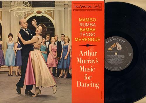 Murray, Arthur Music For Dancing - Mambo - Rhumba- Samba - Tango - Merengue (Vinyl MONO LP record) - NM9/EX8 - LP Records