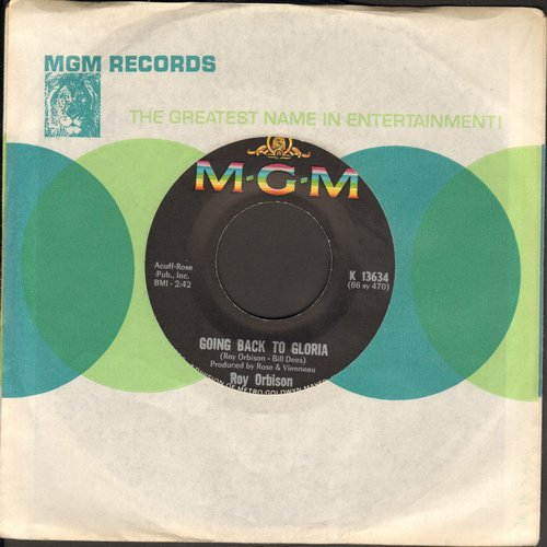 Orbison, Roy - Going Back To Gloria/Communication Breakdown - EX8/ - 45 rpm Records