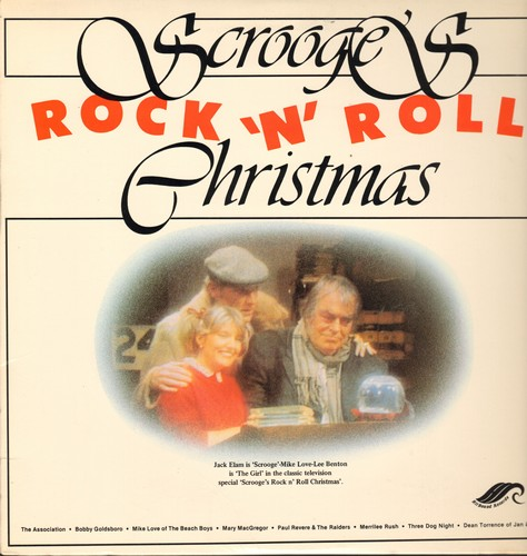 Scrooge's Rock 'N' Roll Christmas - Scrooge's Rock 'N' Roll Christmas - Original Sound Track from the Classic TV Special starring Jack Elam as Scrooge (Vinyl STEREO LP record) - VG7/EX8 - LP Records