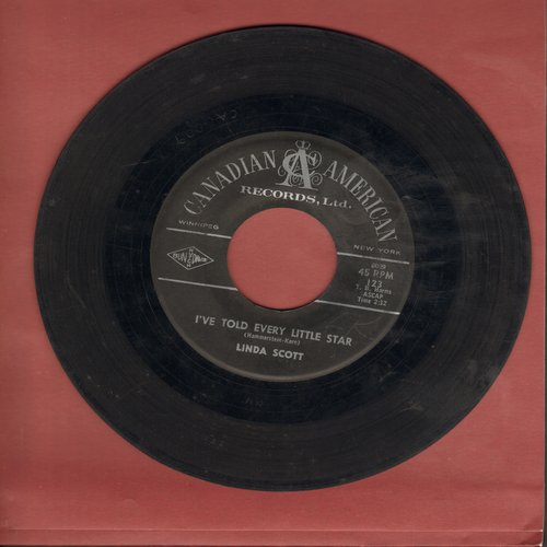 Scott, Linda - I've Told Every Little Star/Three Guesses  - VG7/ - 45 rpm Records