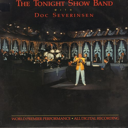 Severinsen, Doc & Tonight Show Band - The Tonight Show Band with Doc Severinsen: Includes Johnny's Theme (The Tonight Show Theme) (Vinyl STEREO  LP record) - EX8/EX8 - LP Records