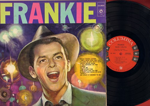 Sinatra, Frank - Frankie: Hello Young Lovers, I Only Have Eyes For You, All Of Me, Nancy (Vinyl MONO LP record) - M10/VG7 - LP Records