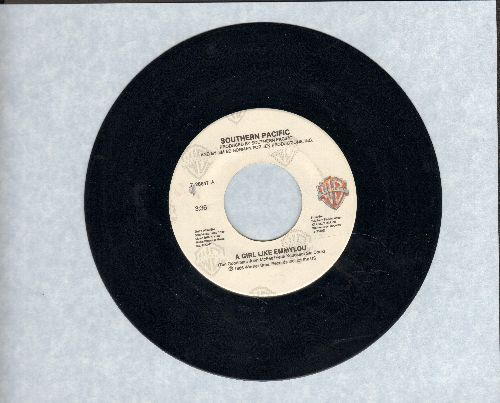 Southern Pacific - A Girl Like Emmylou/Hearts On The Borderline - NM9/ - 45 rpm Records