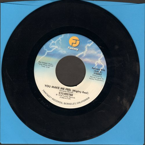 Sylvester - You Make Me Feel (Mighty Real)/Grateful - EX8/ - 45 rpm Records