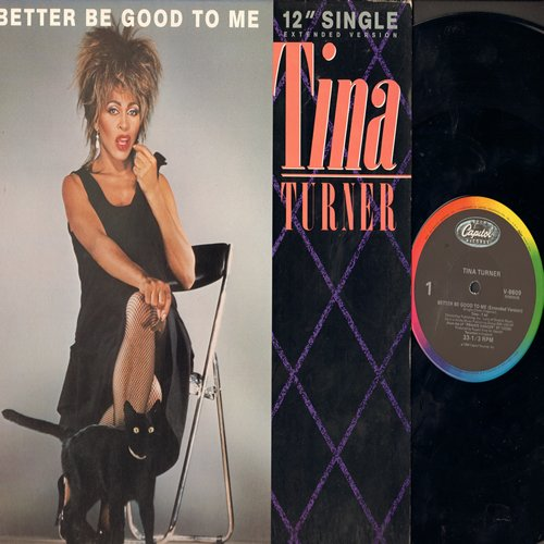 Turner, Tina - Better Be Good To Me (7:40 minutes Extended Version)/When I Was Young (12 inch 33rpm Maxi Single with picture cover) - NM9/NM9 - LP Records
