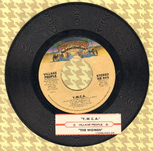 Village People - Y.M.C.A. (PARTY FAVORITE!)/The Women (with juke box label) - NM9/ - 45 rpm Records