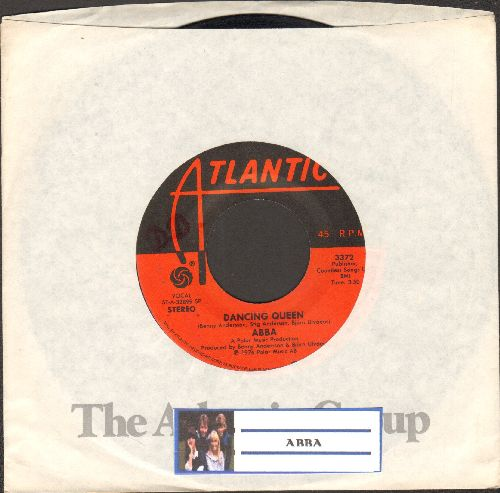 ABBA - Dancing Queen/That's Me (with Atlantic company sleeve) - NM9/ - 45 rpm Records