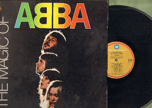 ABBA - The Magic Of ABBA: Dancing Queen, Waterloo, SOS, Mamma Mia, Honey Honey, Chuitita, Fernando (vinyl LP record, gate-fold cover) - EX8/VG7 - LP Records
