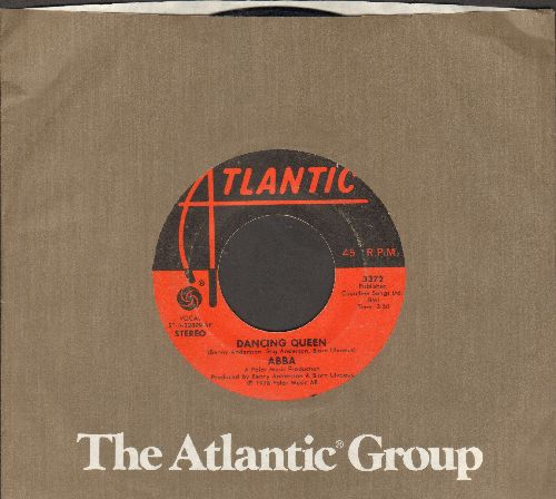 ABBA - Dancing Queen (ABBA's ONLY US #1 Chart Hit!)/That's Me (with Atlantic company sleeve) - VG6/ - 45 rpm Records