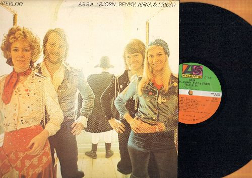 ABBA - Waterloo: Honey Honey, Ring Ring, Hasta Manana, Dance (While The Music Still Goes On), Suzy Hang Around (Vinyl STEREO LP record, NICE condition!) - EX8/VG7 - LP Records