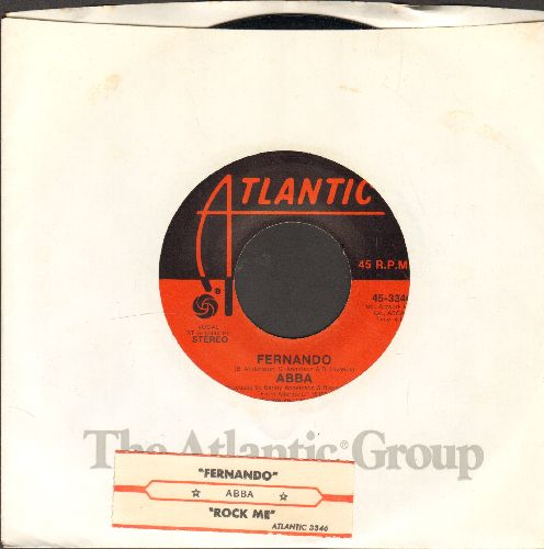 ABBA - Fernando/Rock Me (Atlantic company sleeve and juke box label) - EX8/ - 45 rpm Records