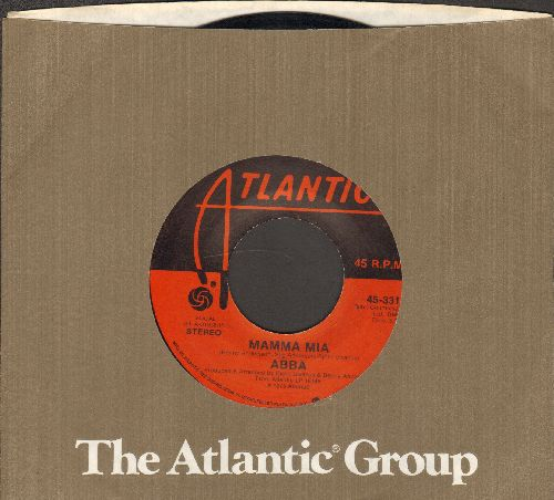 ABBA - Mamma Mia/Tropical Loveland (with Atlantic company sleeve) - EX8/ - 45 rpm Records