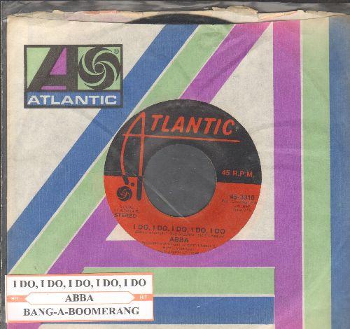 ABBA - I Do, I Do, I Do, I Do, I Do/Bang-A-Boomerang (with juke box label Alantic company sleeve) - NM9/ - 45 rpm Records