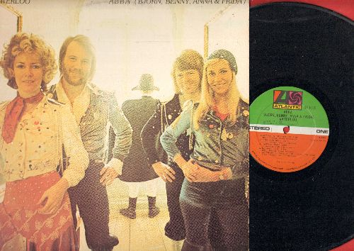 Abba - Waterloo: Ring Ring, Dance (While The Music Still Goes On), Hasta Manana, Honey Honey (vinyl STEREO LP record) - EX8/EX8 - LP Records