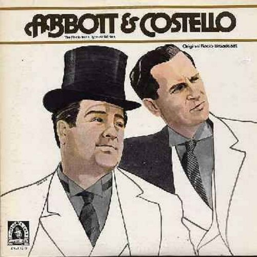 Abbott & Costello - Abbott & Costello - The Radio Treasury First Edition: Includes routinges horse fodder, up and down, flee-flu as well as vocal performances by Connie Haines and Bob Matthews. Original recordings from 1943-1945. Does NOT include the lege
