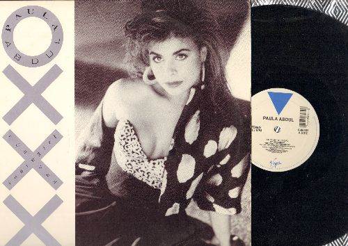 Abdul, Paula - Forver Your Girl (3 Extendended Dance Club versions)/Staright Up (Club Mix)/Next To You - 12 inch vinyl Maxi Single with picture cover - EX8/EX8 - Maxi Singles
