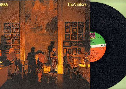 ABBA - The Visitors: When All Is Said And Done, One Of Us, Head Over Heels, Two For The Price Of One, I Let The Music Speak (Vinyl LP record) - M10/EX8 - LP Records