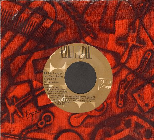 Abdul, Paula - My Love Is For Real/I Didn't Say I Love You (with company sleeve) - NM9/ - 45 rpm Records