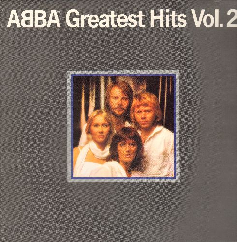ABBA - Greatest Hits Vol. 2: Gimme! Gimme! Gimme! (A Man After Midnight), Knowing Me, Knowing You, Dancing Queen, Chiquitita, Money Money Money (vinyl STEREO LP record, gate-fold cover) - NM9/NM9 - LP Records