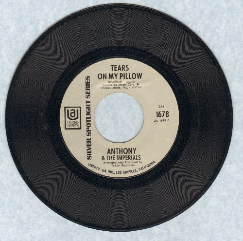 Anthony & The Imperials - Tears On My Pillow/Who's Sorry Now? (early double-hit re-issue) - VG7/ - 45 rpm Records